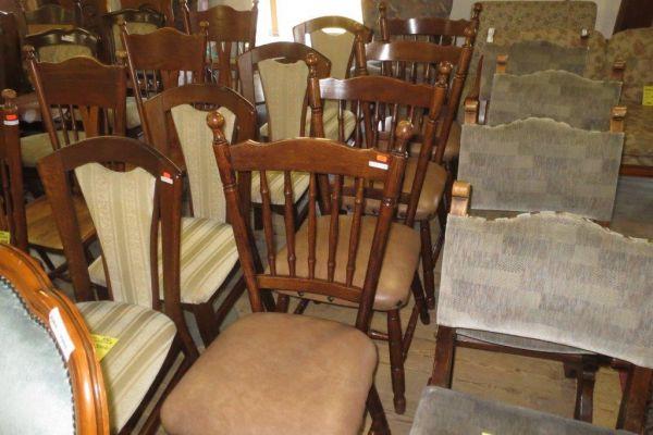 Židle kůže už jen 2 ks, původní cena 2200Kč