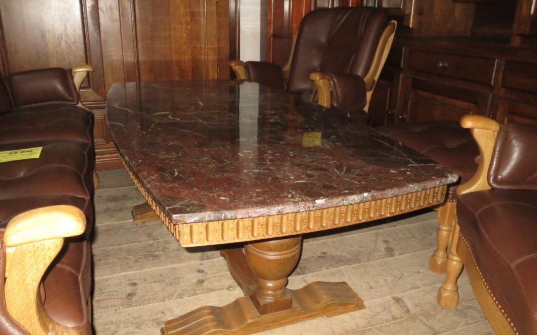 Konferenční stolek mramor