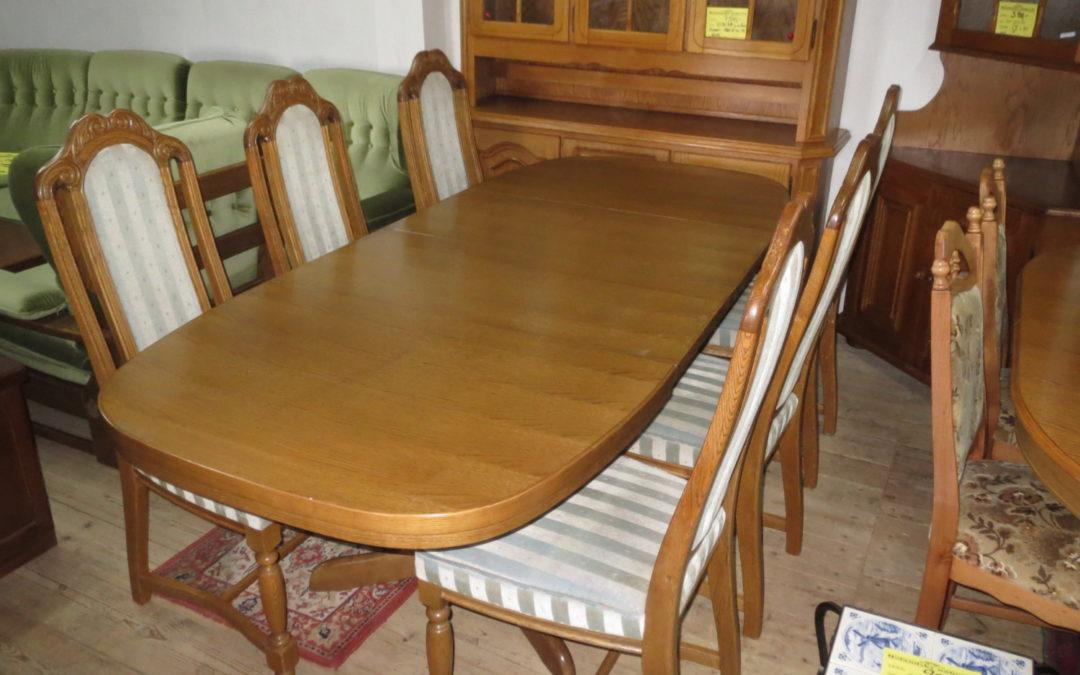 Stůl+6 židlí