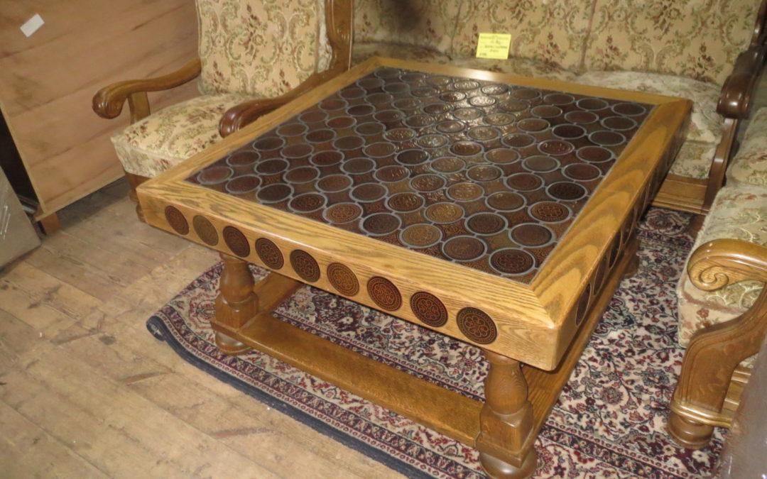 Konferenční stolek čtverec
