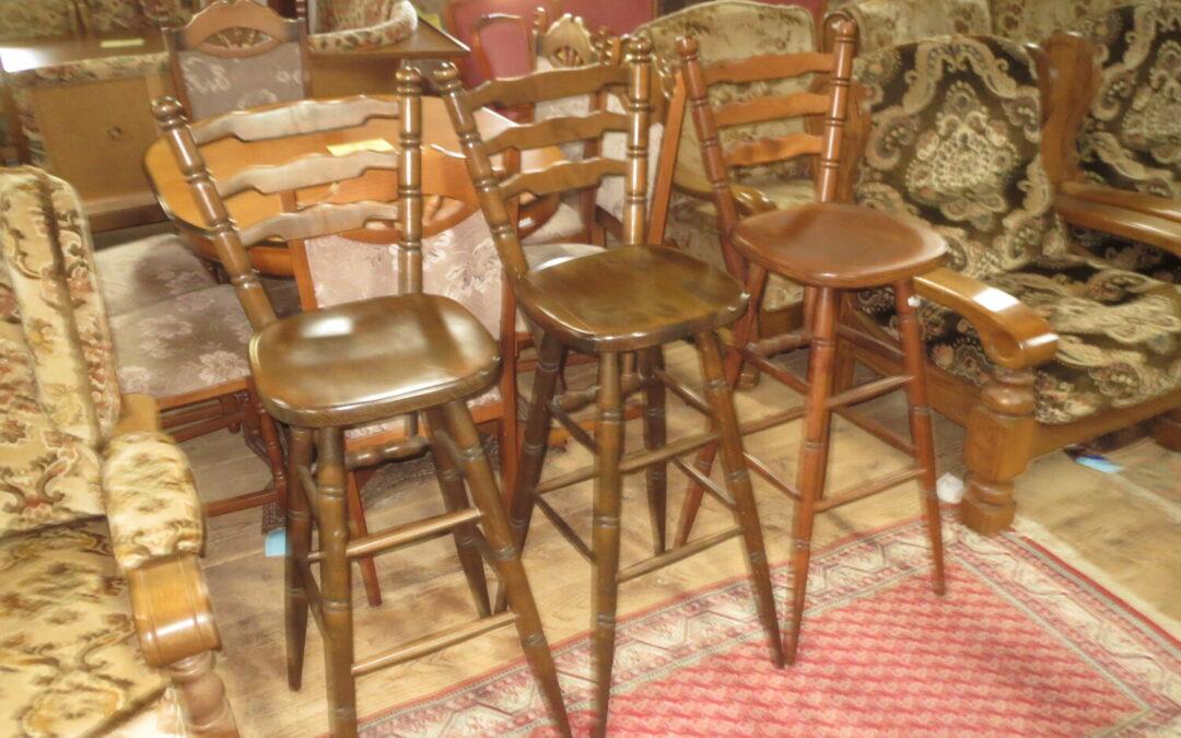 Barové židle 3 ks
