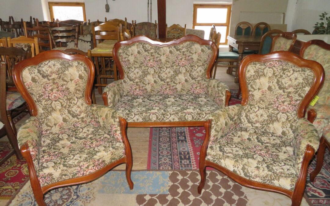 Barokní sedací souprava 2+1+1